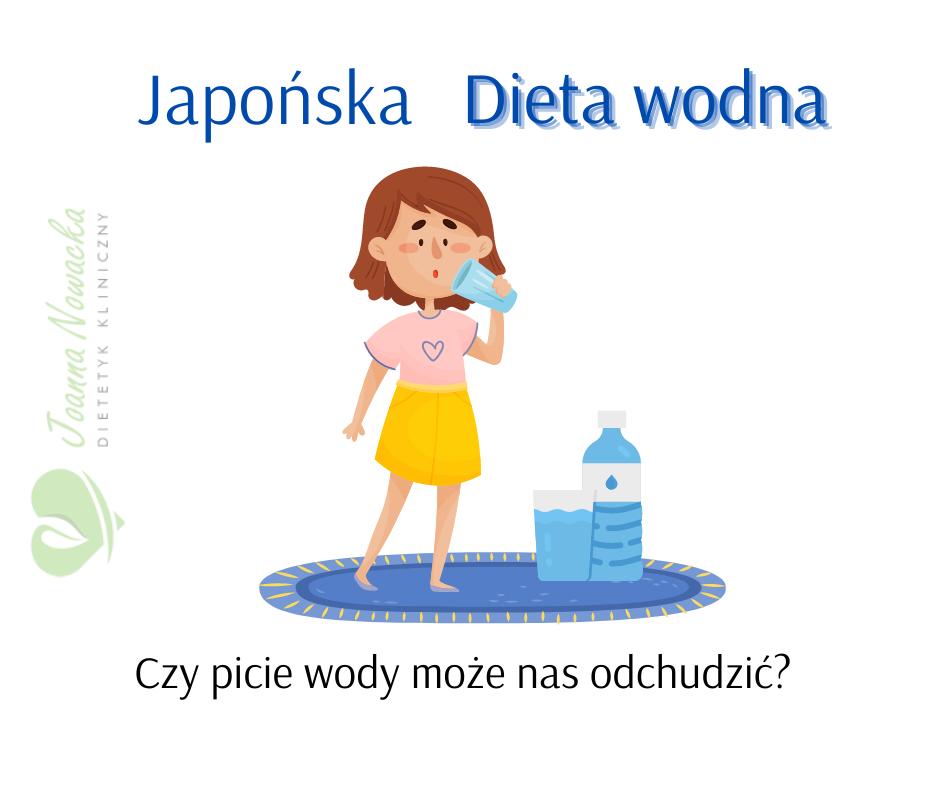 japońska dieta wodna